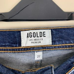 Agolde Jeans - AGOLDE Roxanne Super High Rise Skinny Jeans 27